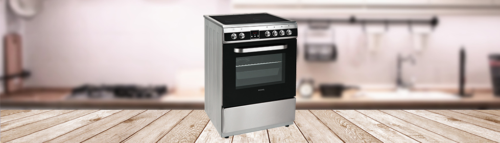 Electric Cooker With Induction Hob