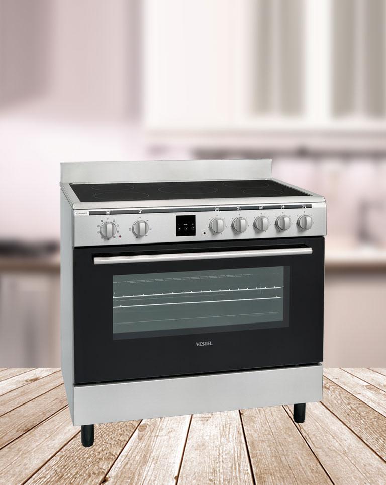 Cocinas el ctricas con vitrocer mica vestel - Cocina electrica media markt ...