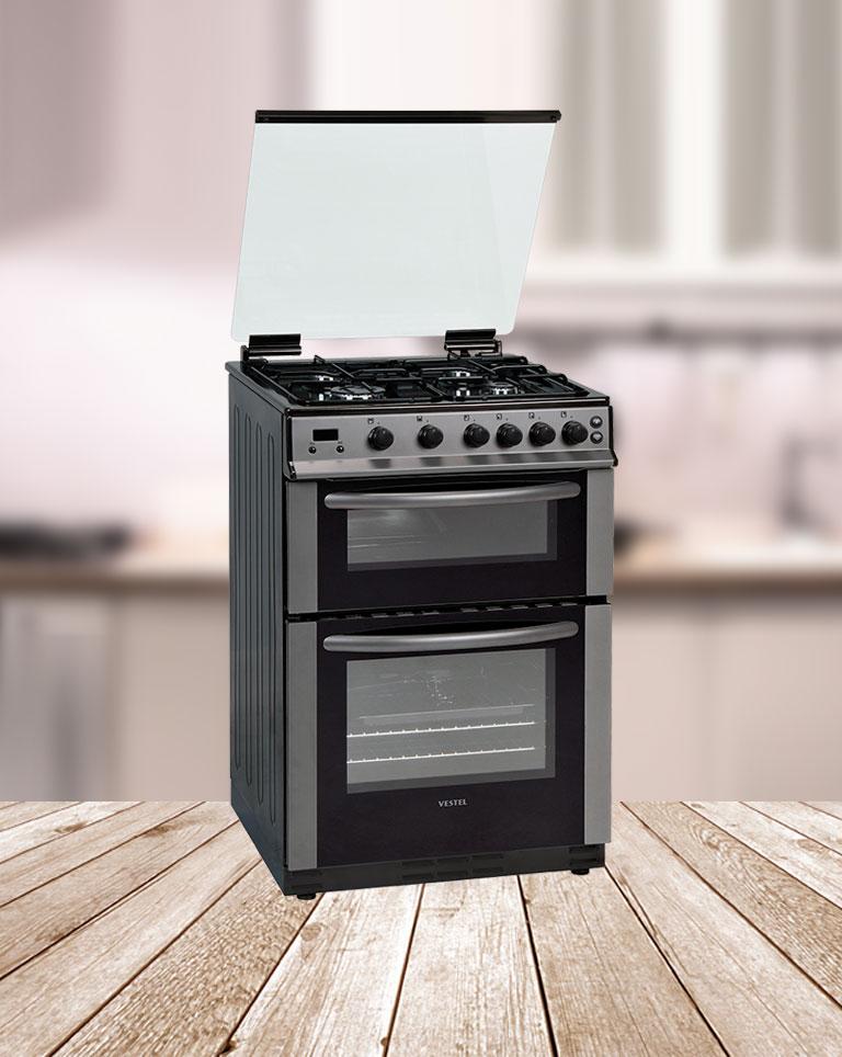 Gas Double Oven  VESTEL -> Plyta Gazowa Do Zabudowy Tanio