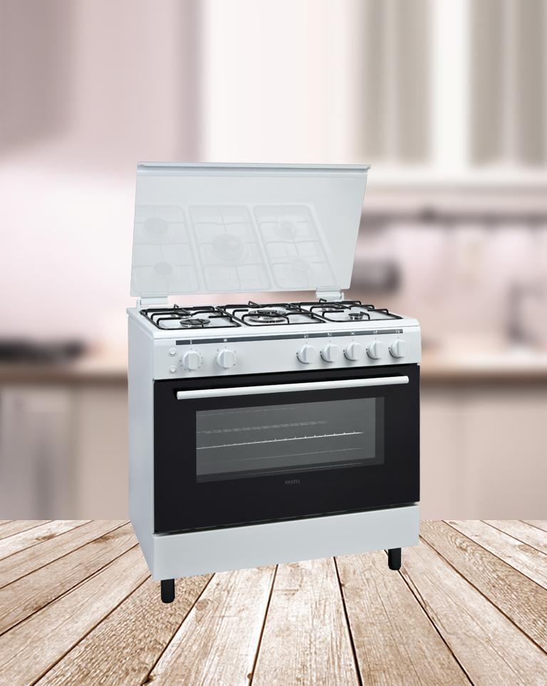 Cocinas de gas vestel for Cocina de gas profesional