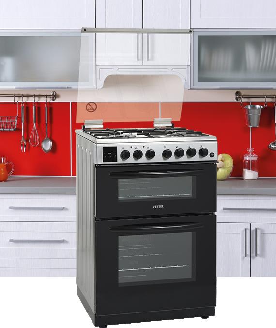 Double Freestanding Oven