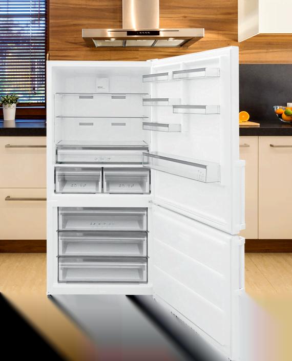Two Door Bottom Freezer