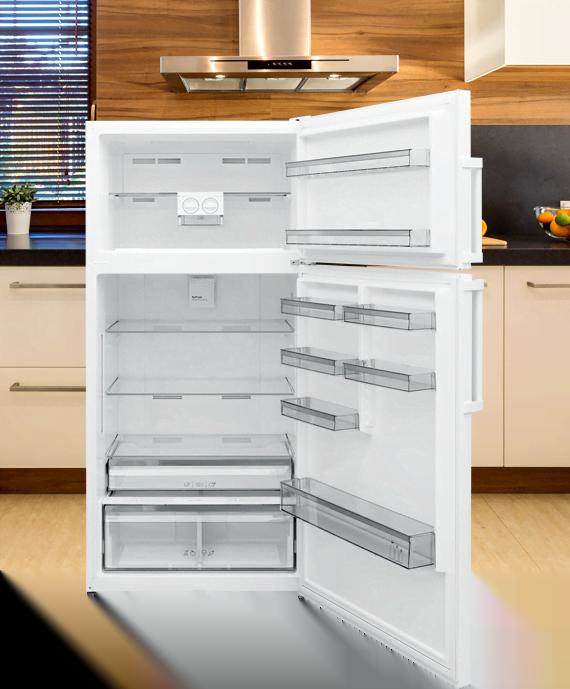 Two Door Top Freezer